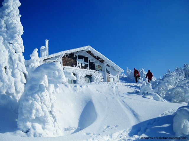 Skihütte am Arber - Bayern
