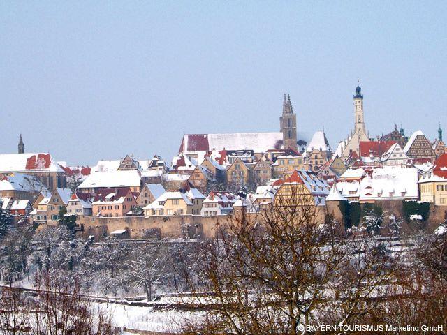 Wintermärchen in Rothenburg ob der Tauber - Bayern