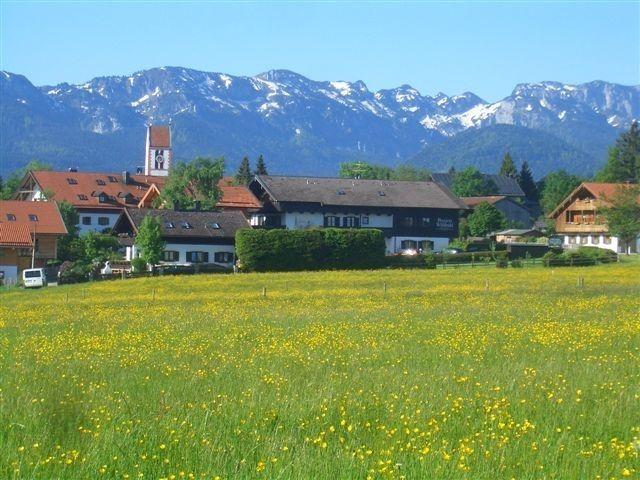 Ansicht Dorf Wackersberg - Wackersberg Bayern