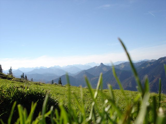 Blick vom Wallberg nahe dem Tegernsee © Schillo, Ulrike - Tegernsee Bayern