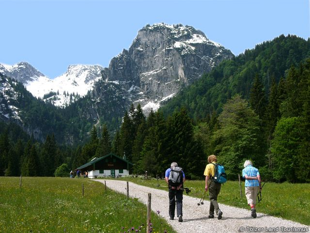 Wanderung zur Längentalalm - Toelzer Land Bayern