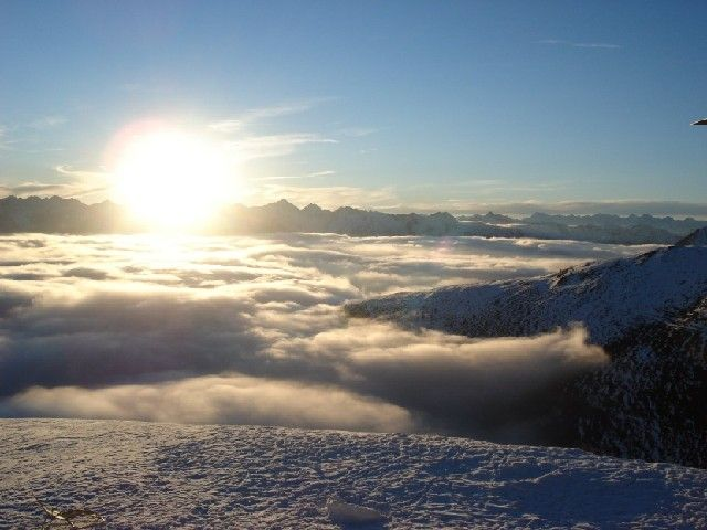 Winterpanorama - Gitschberg-Jochtal South Tirol