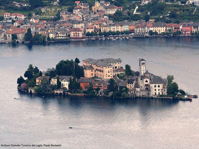 Lago d'Orta (Ortasee) Bild für Fotogalerie - Lago d'Orta (Ortasee) Orta San Giulio