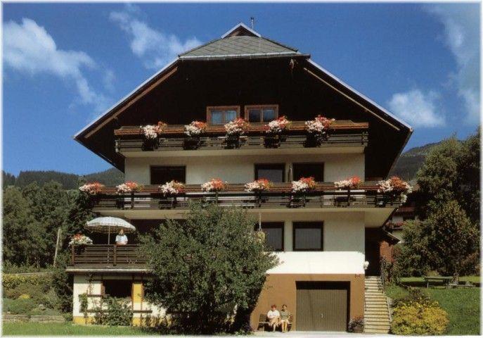 unser Haus im Sommer - Landhaus Unterkoefler Arriach
