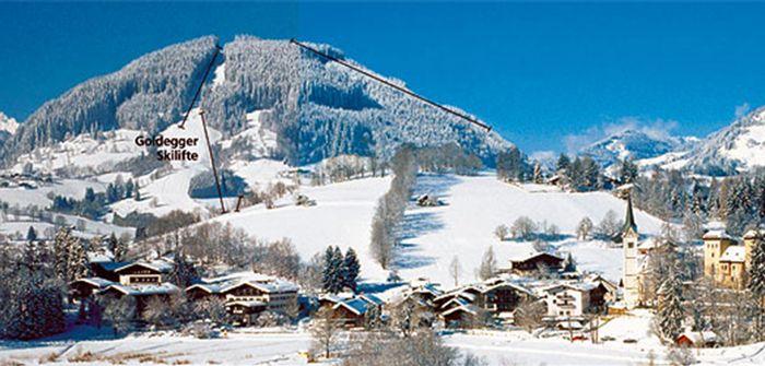 Salzburger Sonnenterrasse Panoramabild groß - Astenlift Goldegg/St-Veit - ski amade St. Veit im Pongau