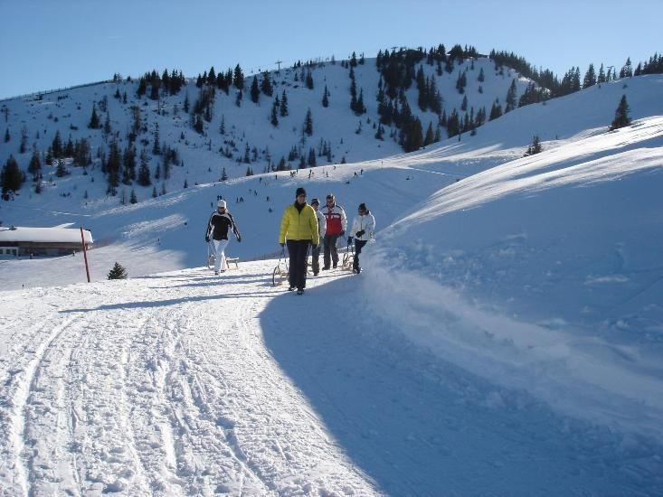 Skiroute_Rodeln Schatzberg nach Thierbach Wildschönau Tourismus - Wildschoenau (Regione) Tirol