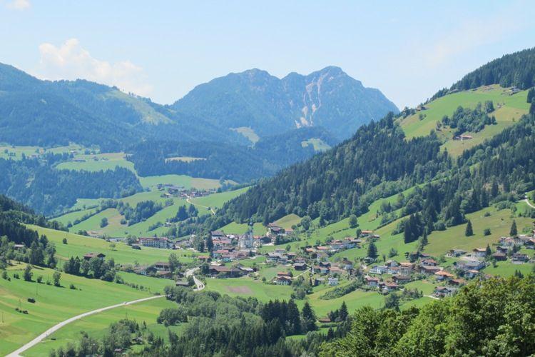 Oberau mit Gradlspitz Wildschönau Tourismus - Wildschoenau - Oberau Tirol