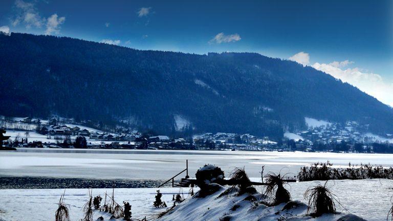 Winter aussen - Apart Hotel Legendaer Steindorf am Ossiacher See