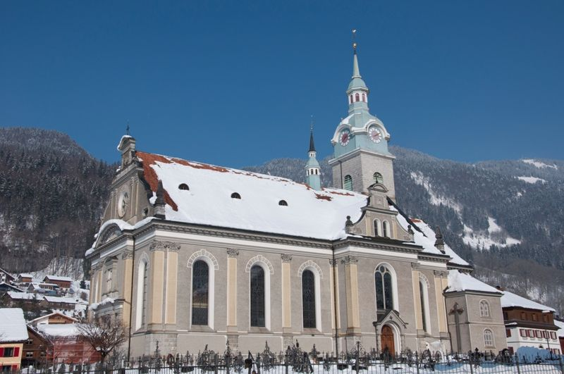 Pfarrkirche Bezau - Bezau Vorarlberg
