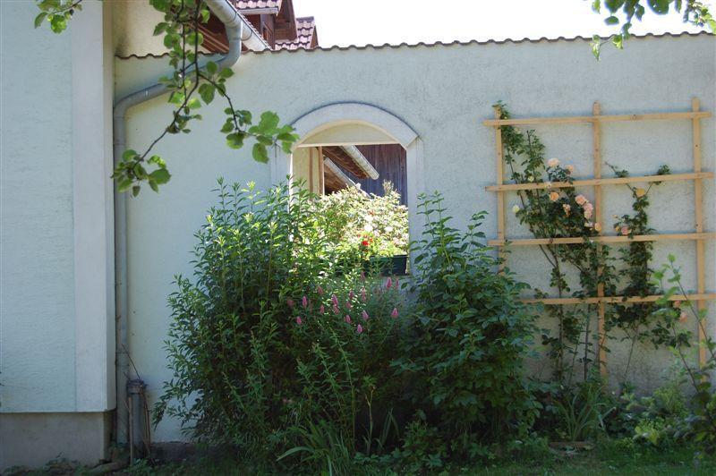 Hof -Terasse  - Familie Schildorfer  BIO - Bauernhof Rastenfeld