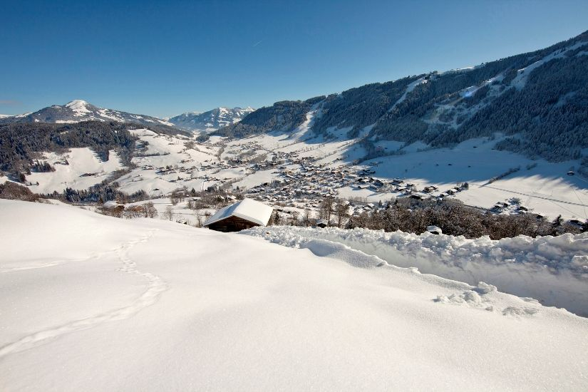 Blick auf Niederau Wildschönau Tourismus FG T. Trinkl - Wildschoenau Tirol