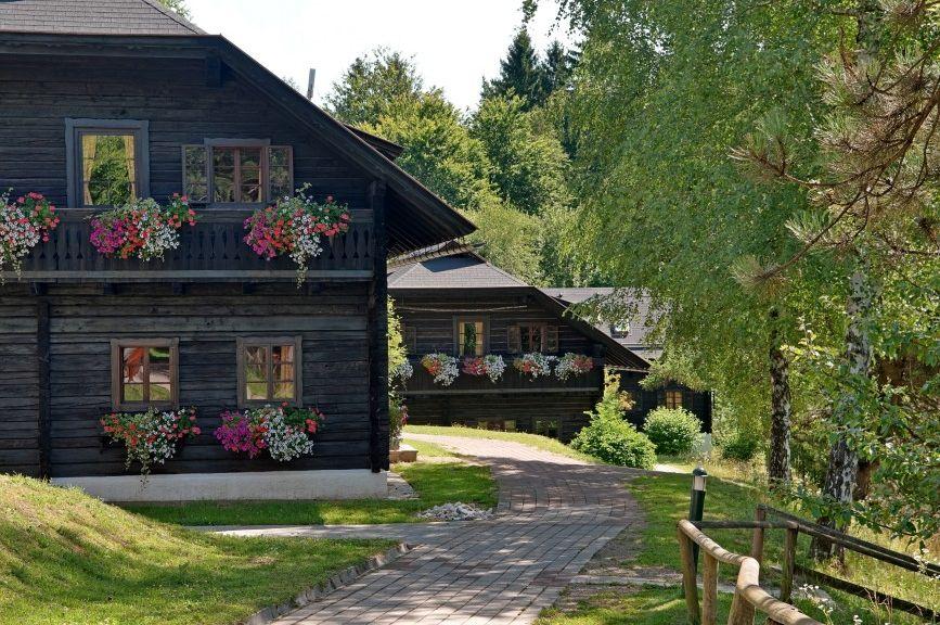 Naturel Hoteldorf SCHÖNLEITN, Appartements, Kärntner Bauernhäuser - Naturel Hoteldorf SCHOENLEITN Faaker See