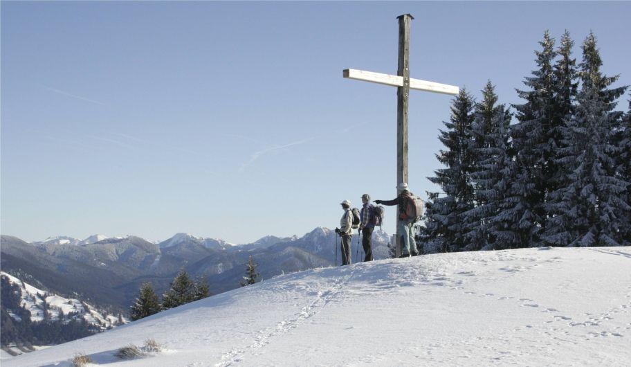 Blomberg im Winter - Wackersberg Bayern