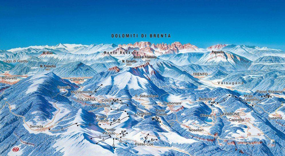 Ski Area Lavarone - Lavarone-Rivetta Lavarone