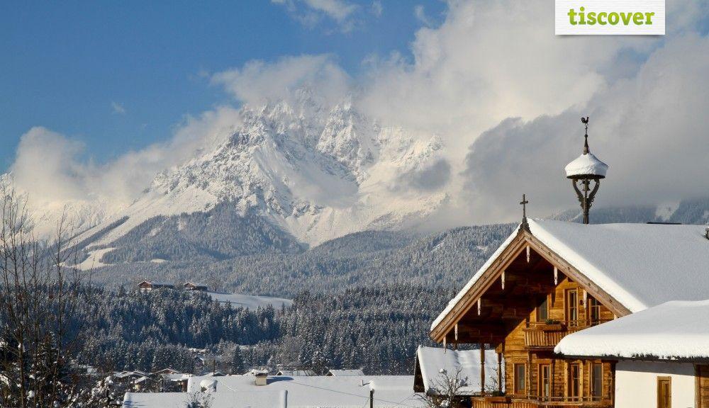 Oberndorf in Tirol - Kitzbüheler Alpen im Winter - Oberndorf Tirol