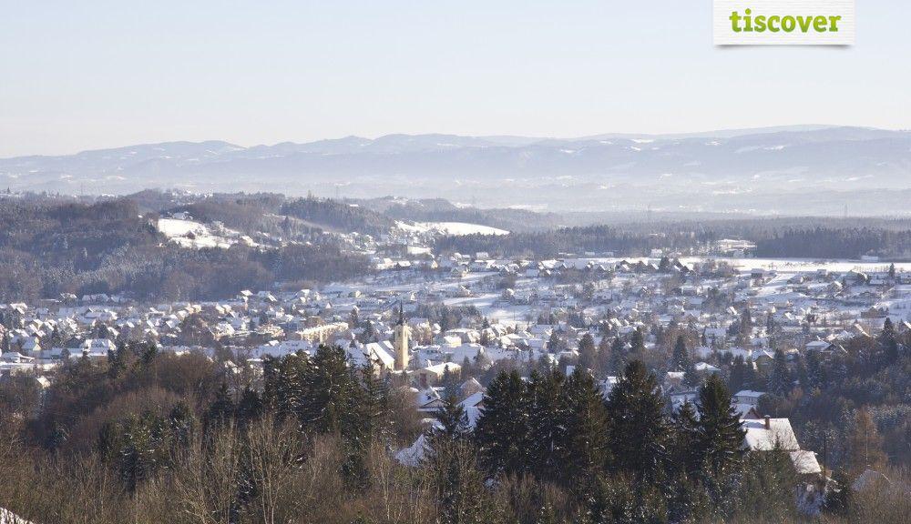 Deutschlandsberg im Winter - Deutschlandsberg Steiermark