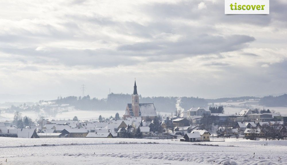 Groß St. Florian In winter - Groß  St.  Florian Styria