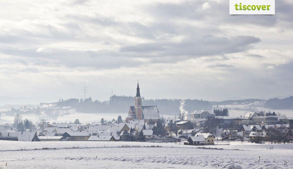 Groß St. Florian im Winter - Groß St. Florian Steiermark
