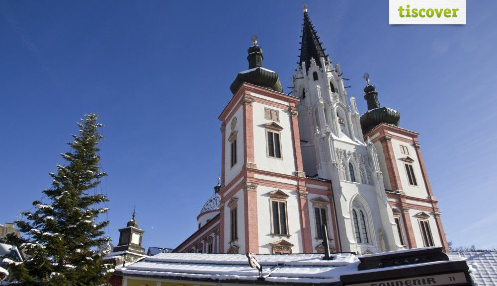Mariazell In winter - Mariazell Styria