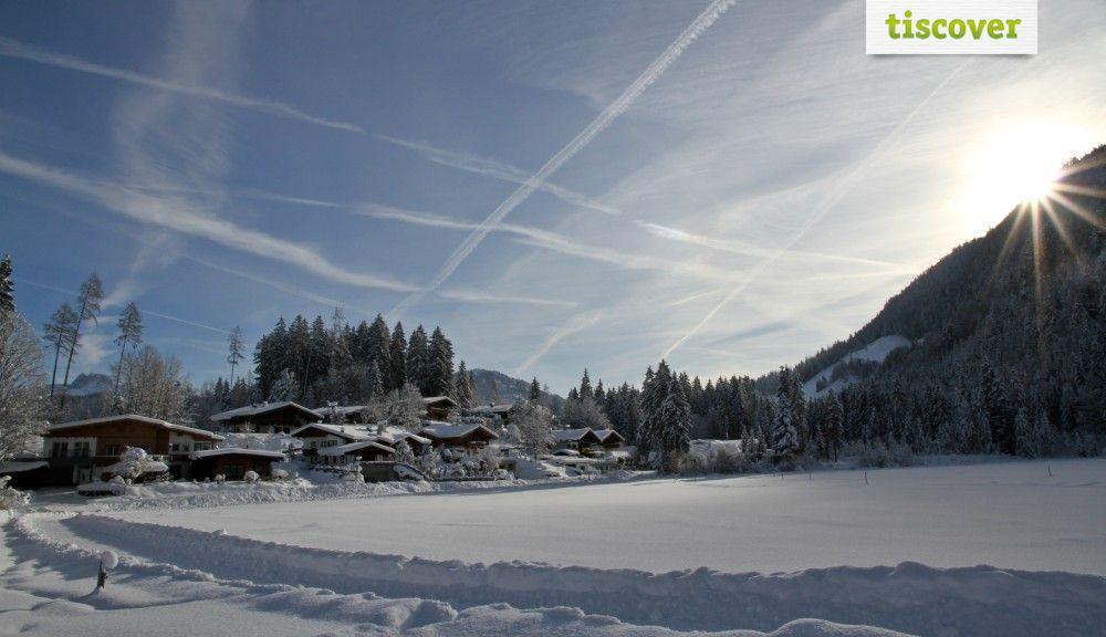 Kössen-Schwendt im Kaiserwinkl In winter - Koessen/Schwendt Tirol