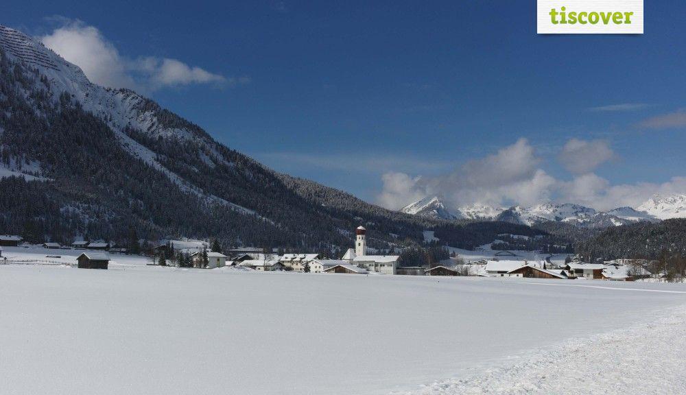 Heiterwang am See im Winter - Heiterwang Tirol