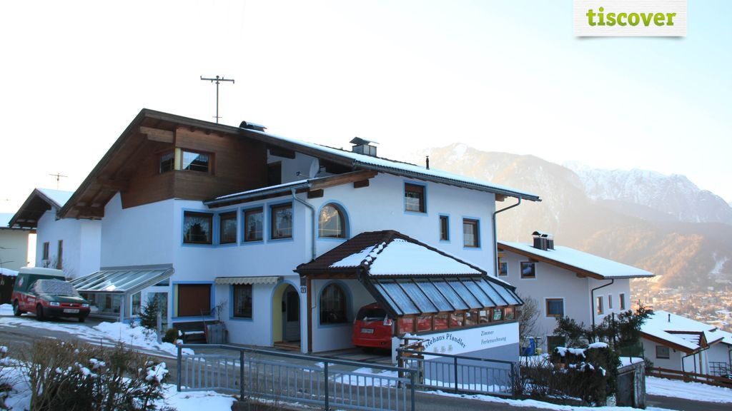 View from outside In winter
