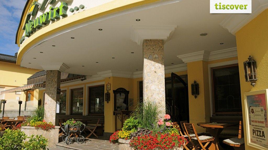Aussenansicht im Sommer - Hotel Neuwirt Brandenberg