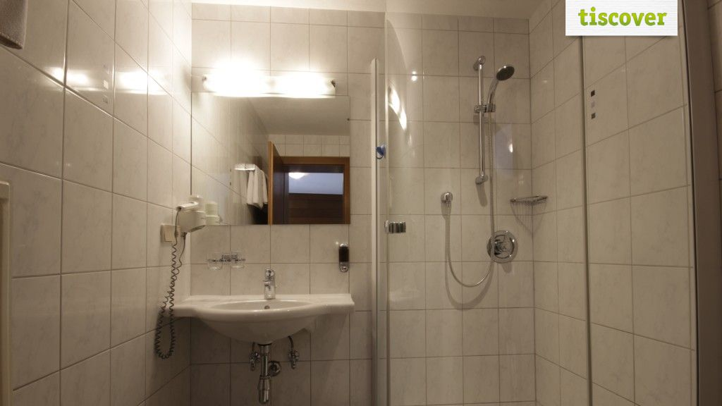 Badezimmer  - Hotel Gletscherblick Kaunertal