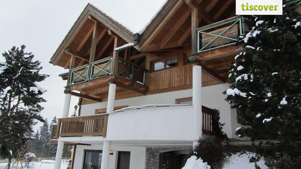 Aussenansicht im Winter, Appartement Piz - Apart Raich