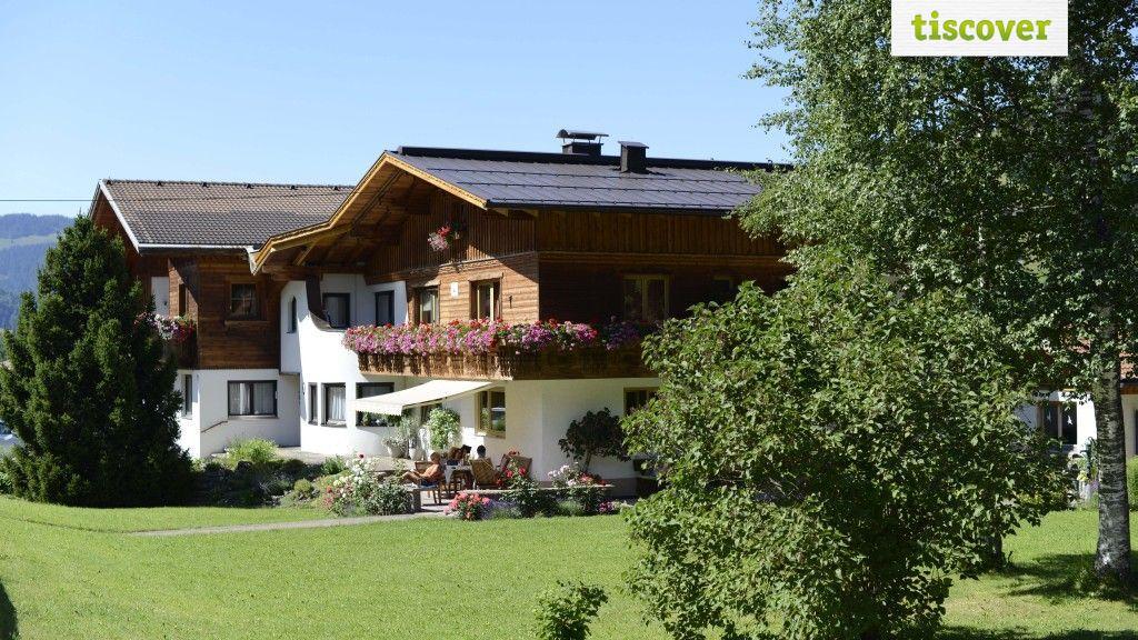 Aussenansicht im Sommer - Gaestehaus Huter Schattwald