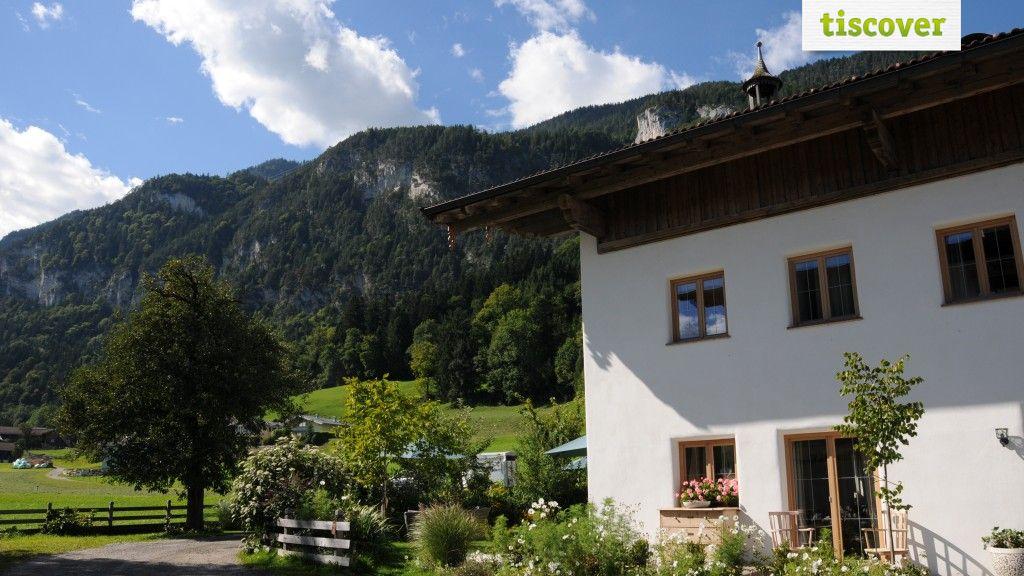 Aussenansicht im Sommer - Freundsheimhof`s Entspannungstage Kramsach