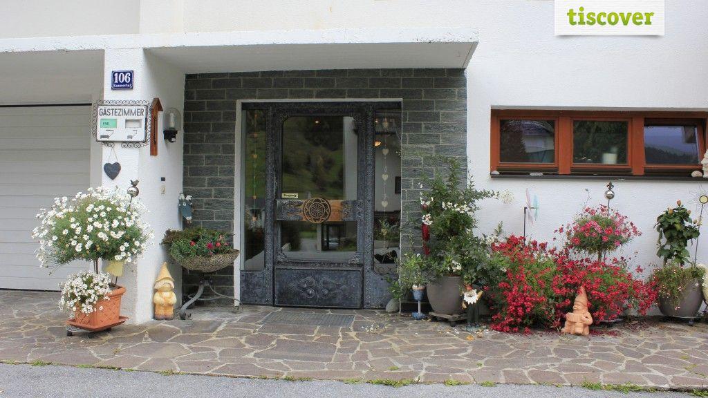 Aussenansicht im Sommer - Ferienhaus Waldner Kaunertal