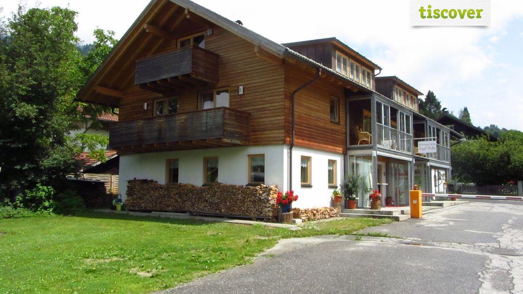 Aussenansicht im Winter, Gasthof Sepplstoba
