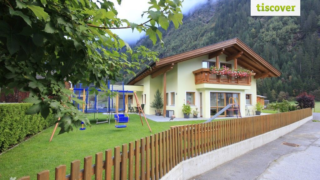 View from outside In summer - Apart Larcher Kaunertal