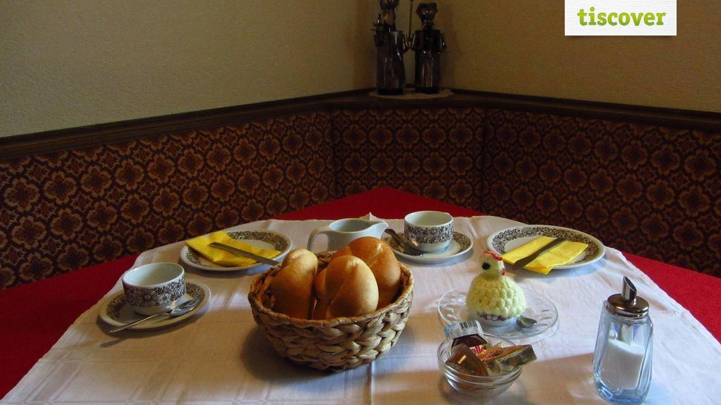 Frühstücksraum im Winter