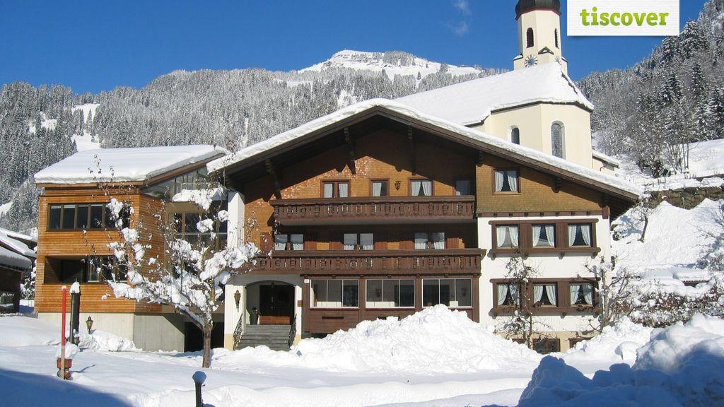 Aussenansicht im Winter, Moosbrugger Marlene u. Walter - Haus Marlene