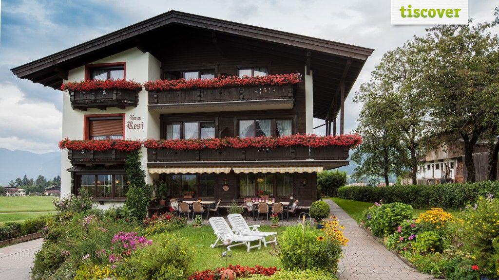 Aussenansicht im Sommer - Haus Resi Reith im Alpbachtal
