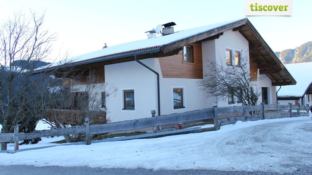 View from outside In winter - Appartement Rainer Wildschoenau
