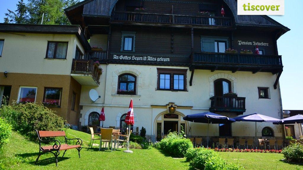 Aussenansicht im Sommer - Hotel Belvedere Semmering