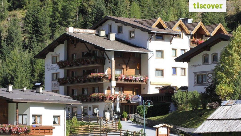Aussenansicht im Sommer - Hotel Feichtnerhof Kaunertal