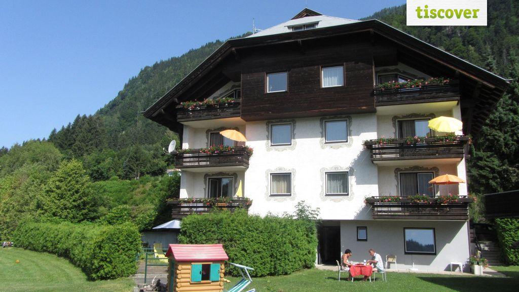View from outside In summer, Ferien Haus Mössler