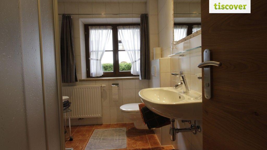 Badezimmer  - Ferienwohnungen Mark Kaunertal