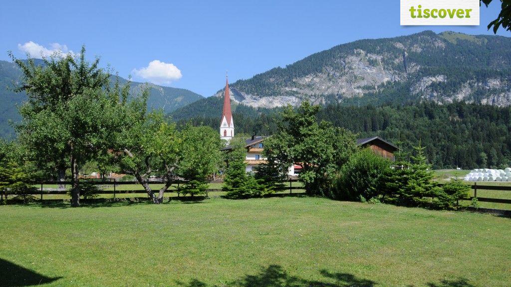 View from outside In summer - Pension Ferienwohnung Pirhofer Kramsach