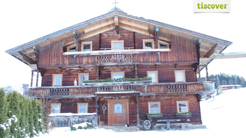 Aussenansicht im Winter - Apartment Wiemhof Wildschoenau