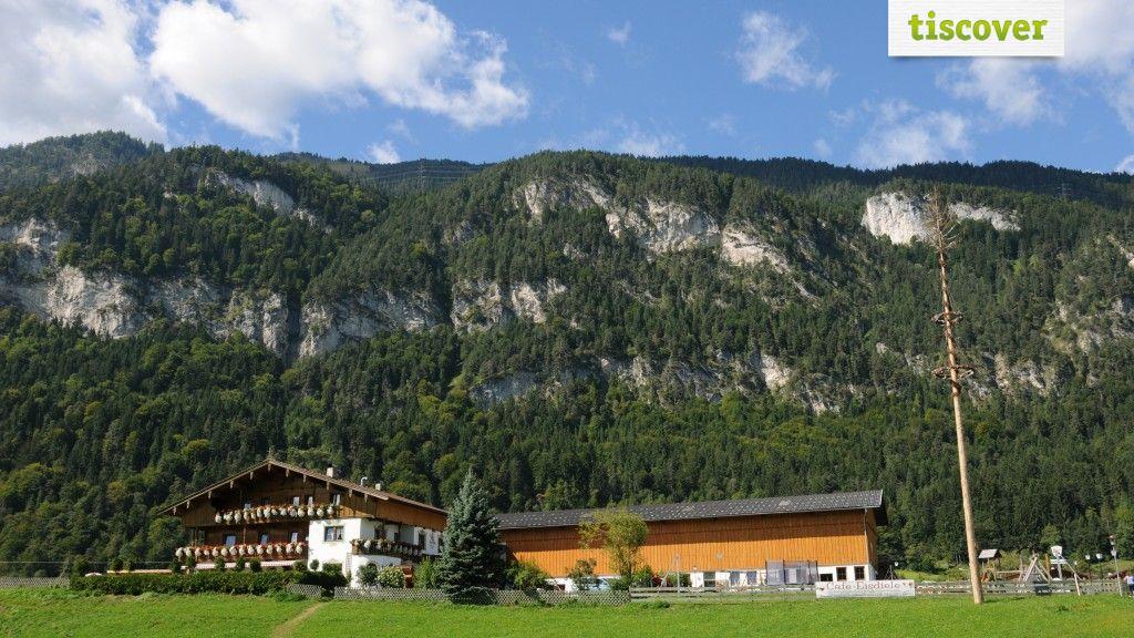 Aussenansicht im Sommer - Haflingerhof Kramsach