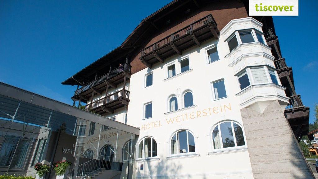 Aussenansicht im Sommer - Hotel Wetterstein Seefeld