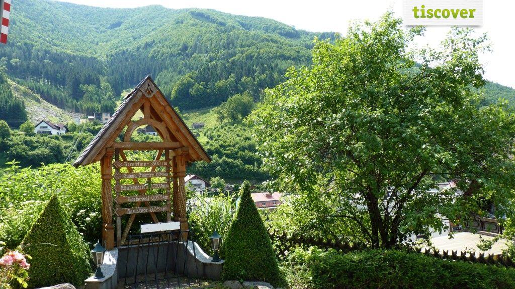 Aussenansicht im Sommer - Gasthof Ortbauerngut Reichraming
