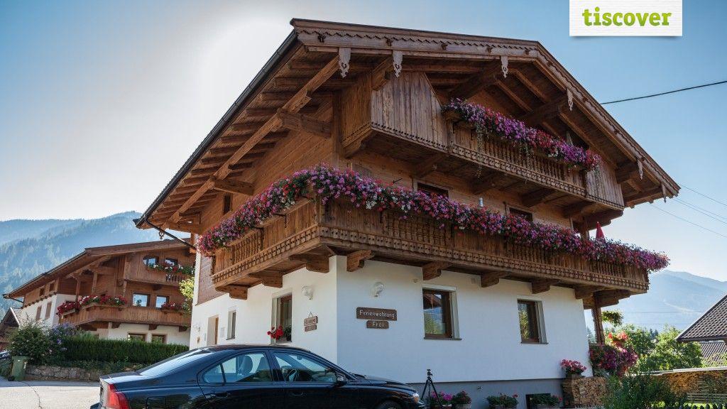 Aussenansicht im Sommer - Appartement Alpina & Haus Zillertal Alpbach