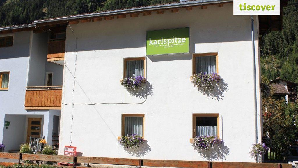 Aussenansicht im Sommer - Karlspitze -Natur Pur     Appartementhaus Kaunertal