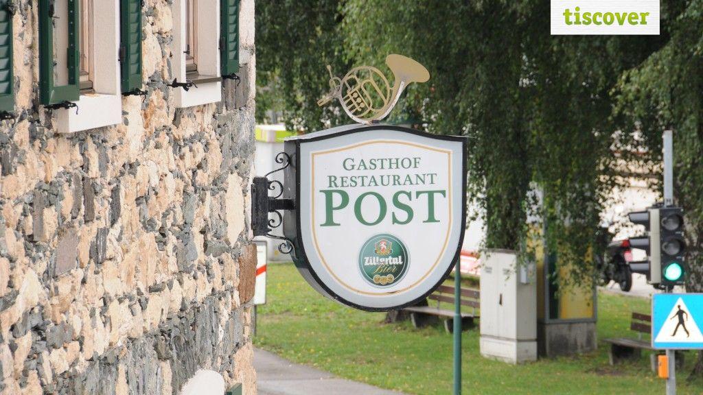 View from outside In summer - Landgasthof Post Strass im Zillertal